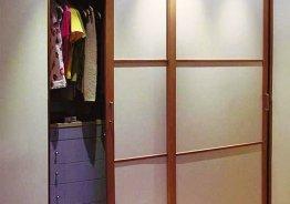 Маленькие шкафы купе в спальню