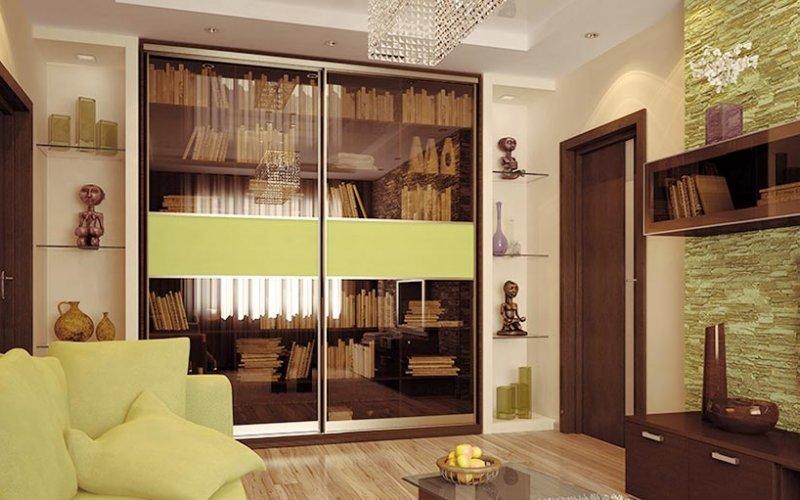 Шкафы купе под книги