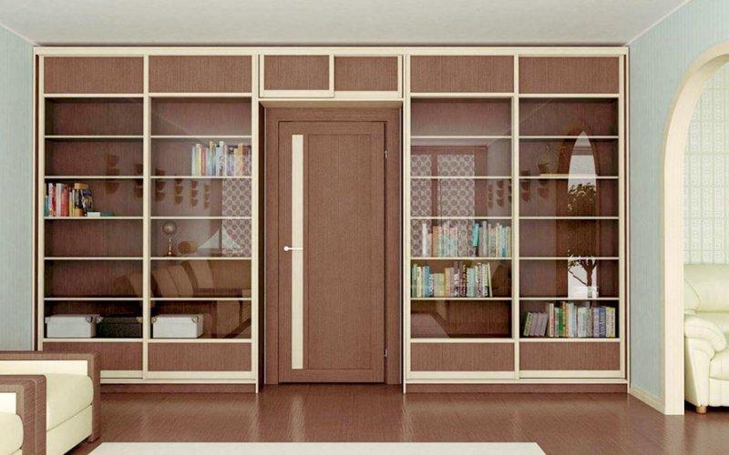 Шкаф купе библиотека