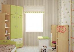 Шкаф купе в детскую комнату для девочек