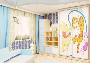 Детская мебель со шкафом купе