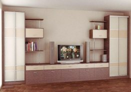 Мебель в гостиную со шкафом купе