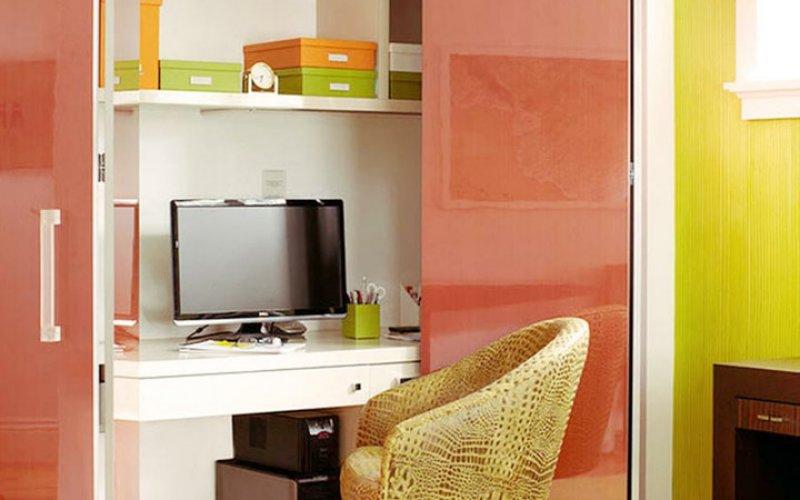 Шкаф купе с письменным столом