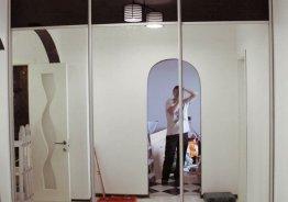 Шкаф купе с зеркалами 3 дверный