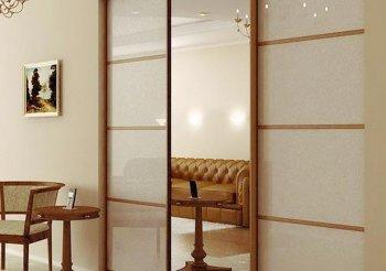 Шкафы купе 3 дверные с зеркалом