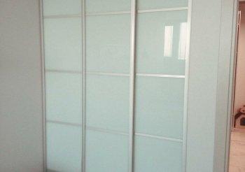 Шкаф купе трехдверный белый