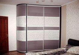 Шкафы купе серый цвет