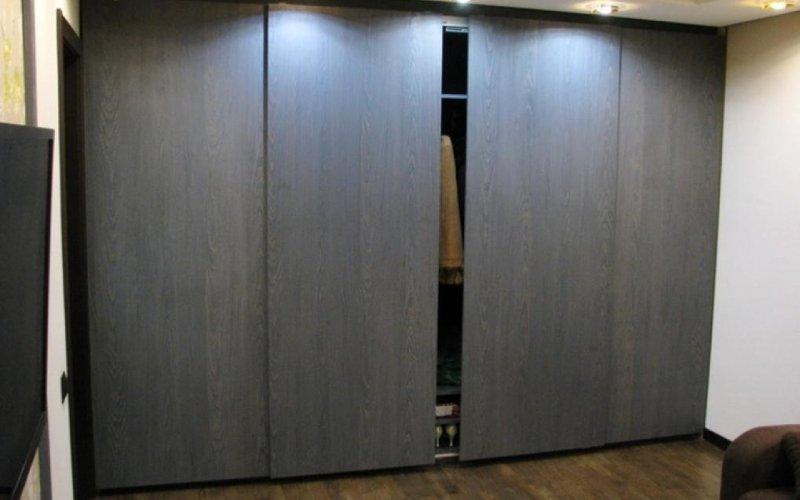 Шкаф купе серый дуб