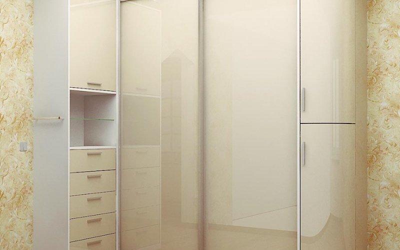 Шкаф купе светлые фасады