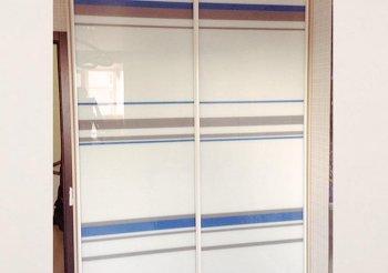 Глянцевые двери для шкафа купе