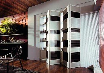 Шкаф купе со складными дверями