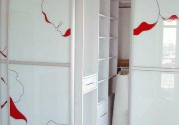 Гардеробная со шкафом купе