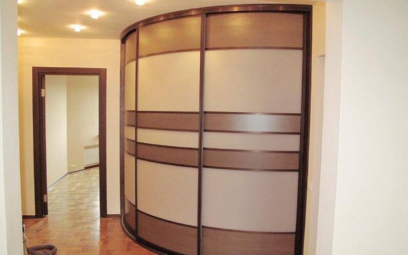 Шкафы купе лдсп со вставками