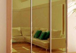 Шкаф купе тонированный стекло