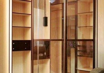 Шкаф купе с прозрачными дверями