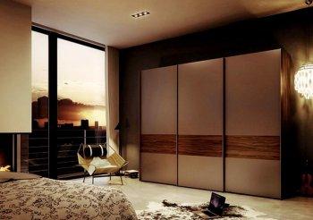 Купить спальню со шкафом купе