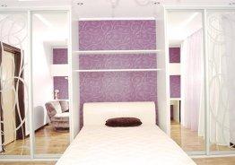 Спальный гарнитур со шкафом купе