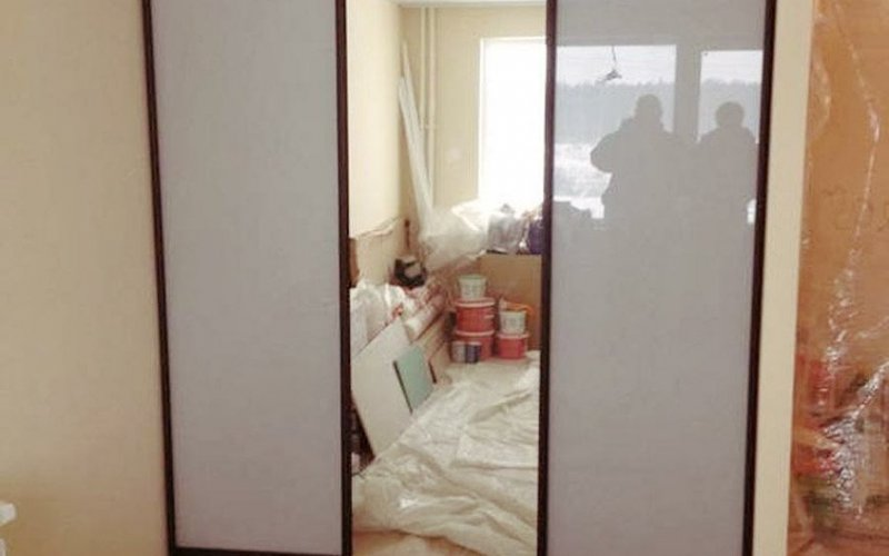 Шкаф купе оракал и зеркало