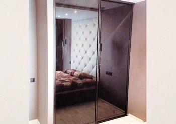 Шкаф купе 2 дверный с зеркалом