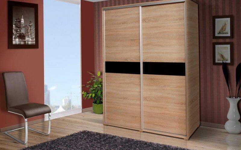 Шкаф купе с двумя дверями
