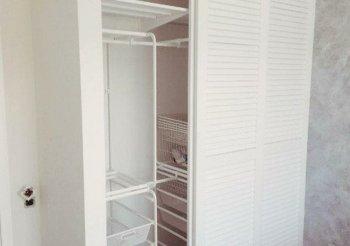 Деревянные жалюзийные двери для шкафов