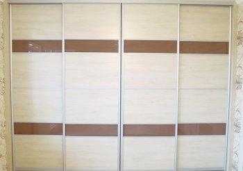 Двери для шкафа встроенного в стену