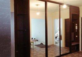Зеркальные двери для встроенного шкафа