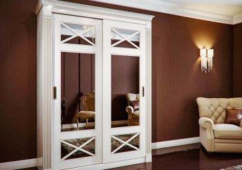 Двери для шкафа купе в классическом стиле