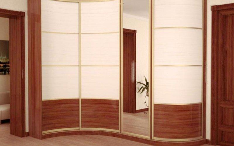 Полукруглые двери для шкафа