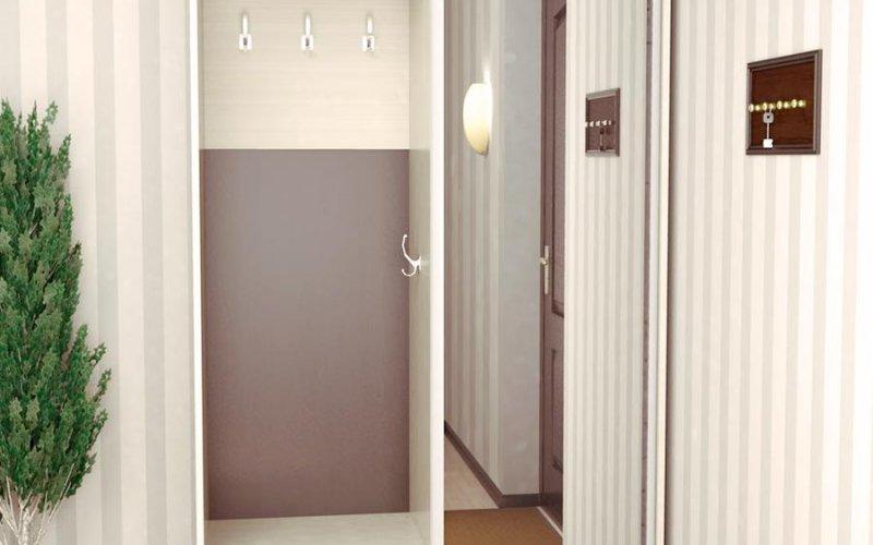 Двери распашные для шкафа