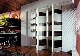 Складные двери для встроенных шкафов