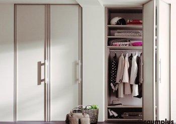 Складные двери купе для шкафа
