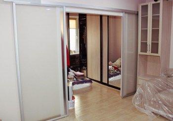 Дешевую перегородку для зонирования комнаты