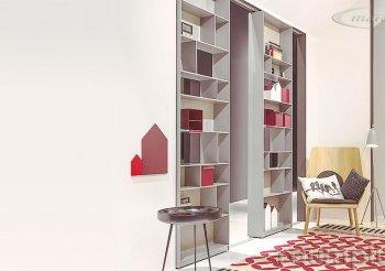Купить стеллаж перегородку для зонирования комнаты