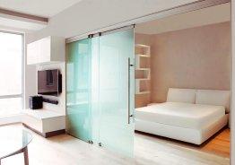 Легкие стеклянные перегородки