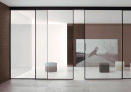 Двери раздвижные 4 полотна