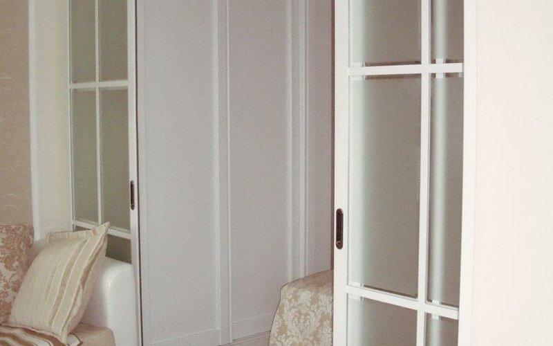 Раздвижные двери классика