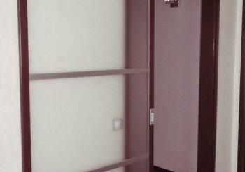 Дверь одностворчатую раздвижную по стене