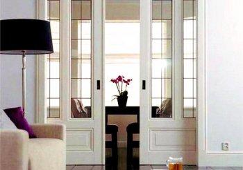 Раздвижные двери межкомнатные цена стекло