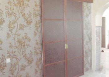 Легкие раздвижные межкомнатные двери