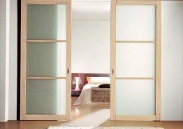 Раздвижные системы для деревянных дверей