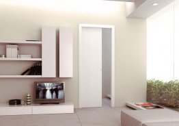 Раздвижные двери в стену цена
