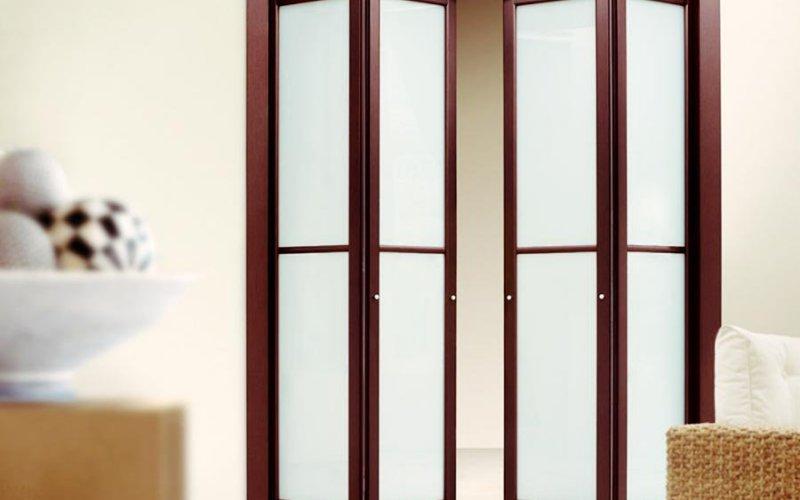 Складные межкомнатные перегородки гармошка для квартиры