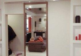 Двери с золотом и зеркалом