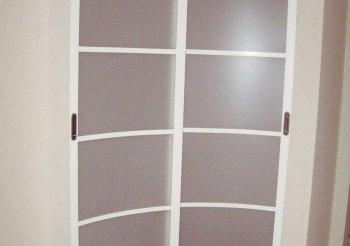 Радиусные двери раздвижные по стене