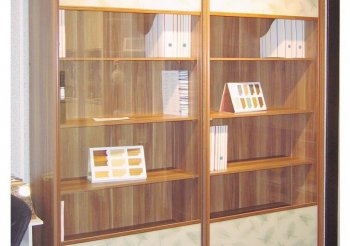 Книжные шкафы купе библиотеки раздвижные