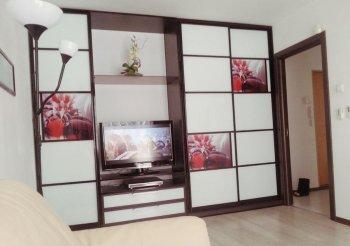 Модульная гостиная со шкафом купе