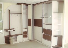 Шкафы купе двухдверные без зеркал