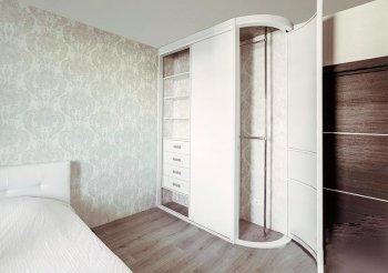 Встраиваемые распашные двери для шкафа