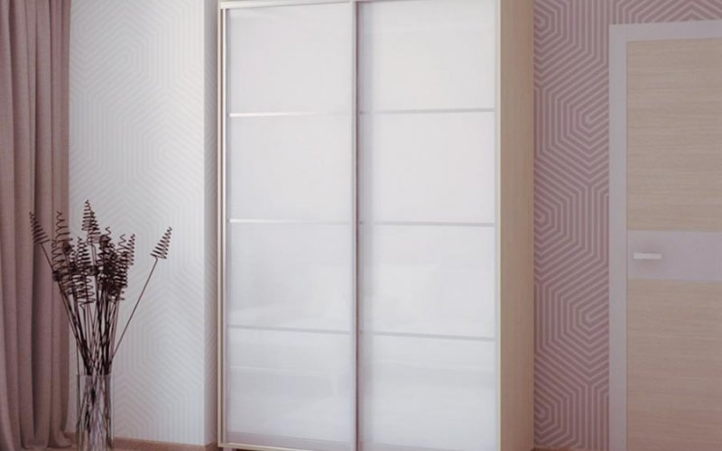 Двери купе зеркало с разделителями